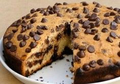 Chocolate Chip Cake - Recipe - The Answer is Cake