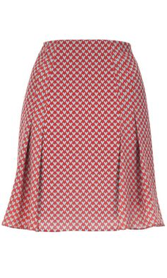 Louche Sheri Heart Printed Skirt - perfect style for Lindy - need to recreate in cotton Ankara Skirt And Blouse, Womens Dress Suits, Latest African Fashion Dresses, Summer Skirts, Cute Skirts, Blouse Styles, Classy Dress, Printed Skirts, Skirt Outfits