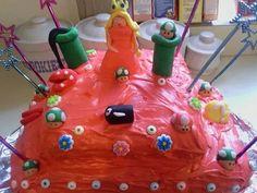 Cheechas 8th bday cake Princess Peach