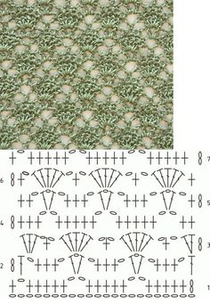 Ganchillo - Punto concha. Tutoriales y DIYs: Crochet