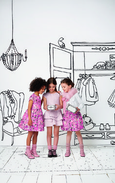 Fendi childrenswear at Chocolate Clothing. A highly luxurious collection such as this ignites fun into casual children's clothing with it's playful themes and colour palette.