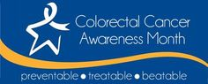 March is #ColorectalCancerAwarenessMonth. Colon cancer is one of the most common forms of cancer people experience, and the second leading cause of cancer deaths in the United States. Starting at age 50, get tested regularly for colorectal cancer.