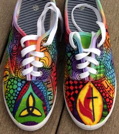 24 Best Custom decorated shoes  -) images  4cd2a1e52bb
