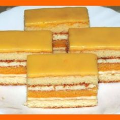 Slovak Recipes, Czech Recipes, Russian Recipes, Sweet Desserts, Sweet Recipes, Traditional Cakes, Cake Bars, Sweets Cake, Pastry Cake