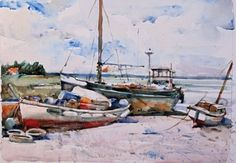 charles reid watercolor landscapes - Google Search