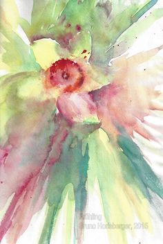 Frühling / Springtime / Primavera / Printemps / 春天 Floral Paintings, Watercolor Painting, Water Colors, Spring, Flower Paintings