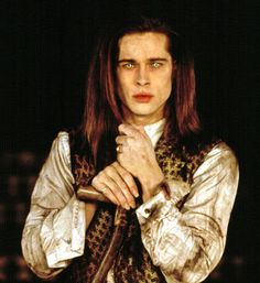 Brad Pitt. An Interview With A Vampire.  Best looking vampire of all vampire movies.