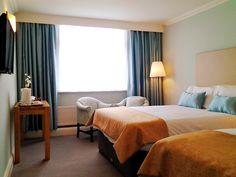 The gold bedroom! Gold Rooms, Gold Bedroom, Dublin Hotels, Shuttle Bus Service, Croke Park, Dublin City, Best Western, Luxury, Modern