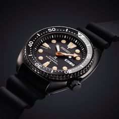 Seiko SRPC49K1 Automatic Black Series