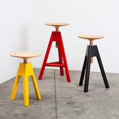 Vitos Stool / designed by Paolo Cappello