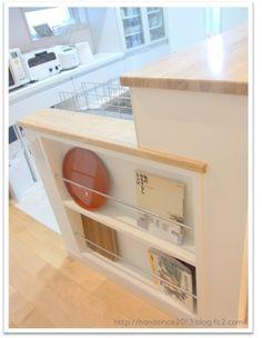 キッチン感想6 ~キッチンカウンターの側面の重要さ~ - 家づくり、がんばりましたっ