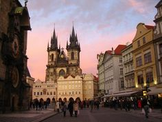 Old Town City Centre in Prague, The Czech Republic