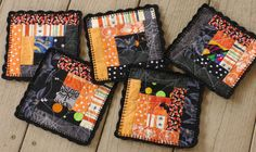 Set of 5 Halloween Coasters | Flickr - Photo Sharing!