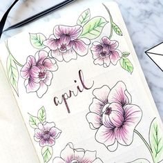 APRIL BULLET JOURNAL Flip Through UPDATE   Weekly log and Monthly log ideas