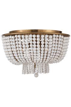 Jacqueline Flush Mount designed by AERIN. Burnished silver leaf or hand-rubbed antique brass finishes. Flush Mount Chandelier, Flush Ceiling Lights, Ceiling Fixtures, Light Fixtures, Entry Lighting, Circa Lighting, Lighting Ideas, Girl Bedroom Designs, Room Essentials