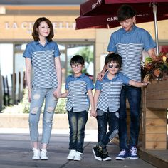 Quality Family Matching Outfits New Family Look Summer ME and MINI ME Pattern Family Men Boy t-shirt Father and Son Clothes Top clothes with free worldwide shipping on AliExpress Mobile Mom And Son Outfits, Mother Daughter Matching Outfits, Twin Outfits, Couple Outfits, Matching Family Outfits, Baby Boy Outfits, Kids Outfits, Family Shirts, Boys T Shirts