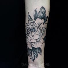 Flower tatto
