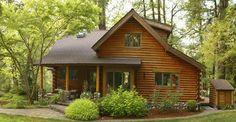 Iată un punct de plecare pentru cei care se gândesc la construcția unei case din lemn sau una pe structură de lemn.