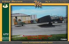 Comprehensive inbox review of the RAF Armstrong Whitworth Whitley Mk.I-II 1/72 scale model kit 72004 from FLY models