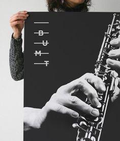 Bumt Music Branding on Lohoholic logo Blog Music Poster