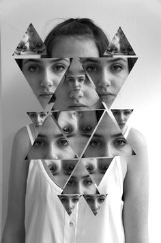 Photo collage self portrait Distortion Photography, Portrait Photography, Photo Distortion, Montage Photography, Photomontage, Portraits Cubistes, Collage Foto, Photo Collages, Wall Collage