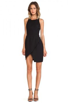 $140.00 Finders Keepers On and On Dress in Black from REVOLVEclothing.com - Bestie.com