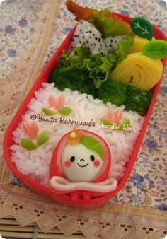 adorable russian nesting doll inspired bento lunch box