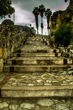 Escaleras. Oaxaca
