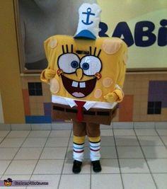 SpongeBob SquarePants Costume <3 2012 Halloween Costume Contest