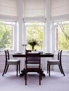 contemporary window treatment