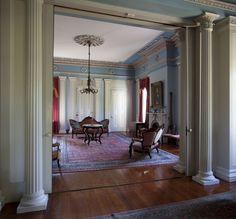 Southern plantations photos and interior photo on pinterest for Southern plantation homes interior