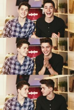 Finn and Jack Harries they are perfect. I want them.