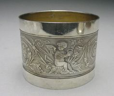 Antique French Silver Napkin Ring