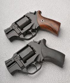 "Chiappa Firearms REVOLVER RHINO - 2"" barrel, Black finish  short barrel - Rgrips.com   February 2015  rhinoceros revolver gun"