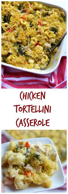 VIDEO + RECIPE: A cheesy-filled casserole filled with leftover chicken or turkey and served to the masses. This is the perfect family and kid-friendly dinner you've been looking for from NoblePig.com. via @cmpollak1