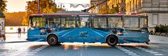 Liudas Parulskis covered a trolleybus in Vilnius, Lithuania with images of the…