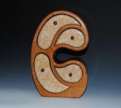 Handmade Wood Madonna Style Jewelry Box or Art Box  by BurlWoodBox, $165.00