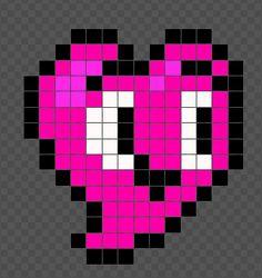 In A Heartbeat- Heart Pixel Art