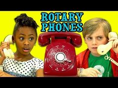 ▶ KIDS REACT TO ROTARY PHONES - YouTube