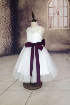 Lace Flower Girl DressFlower Girls Dresses by Weddingcollection