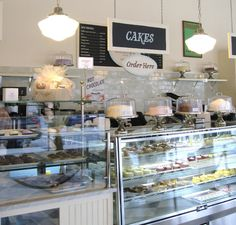 The display windows shown in the picture are going to be used in our bakery.           Google Image Result for http://www.gayot.com/blog/wp-content/uploads/2010/07/magnolia-bakery-counter.jpg