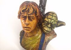 Luke Skywalker carrying Yoda Pipe - Star Wars