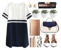 Untitled #72 by lidiaaa18 on Polyvore featuring polyvore fashion style Aspinal of London Sonix Yves Saint Laurent Charlotte Tilbury Kate Spade Pier 1 Imports clothing Beauty twoways