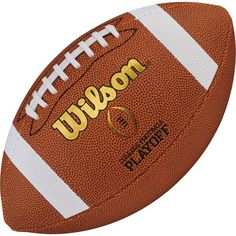 Wilson College Football Playoff Replica Official Football, White