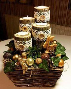 декор свечей семейный очаг