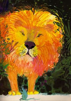 The Lion and the Rat: A Fable by La Fontaine, illustrated by Brian Wildsmith (1964).