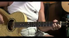 how to play wild horses on acoustic guitar