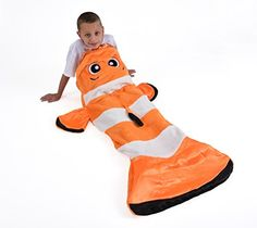 Snuggie Tails Clown Fish Blanket For Kids Snuggie Tails