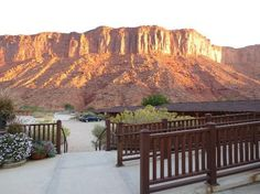View from the main lodge - Red Cliffs Lodge near Moab, UT