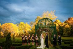 Gorgeous yellow and blue skies  at Barley Sheaf Farm on Carats & Cake by Juliana Laury Photography